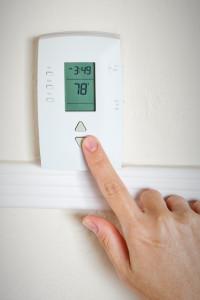 Setting the room temperature